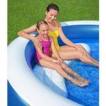 güneşlikli şişme havuz