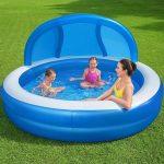güneşten koruyan havuz